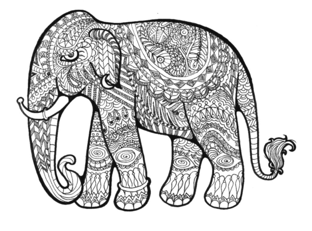 Hard Coloring Pages Animals Coloring Pages
